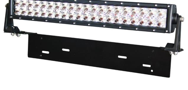 LED-ramp dubbelradig rak 56cm (Kombo) - Swedstuff