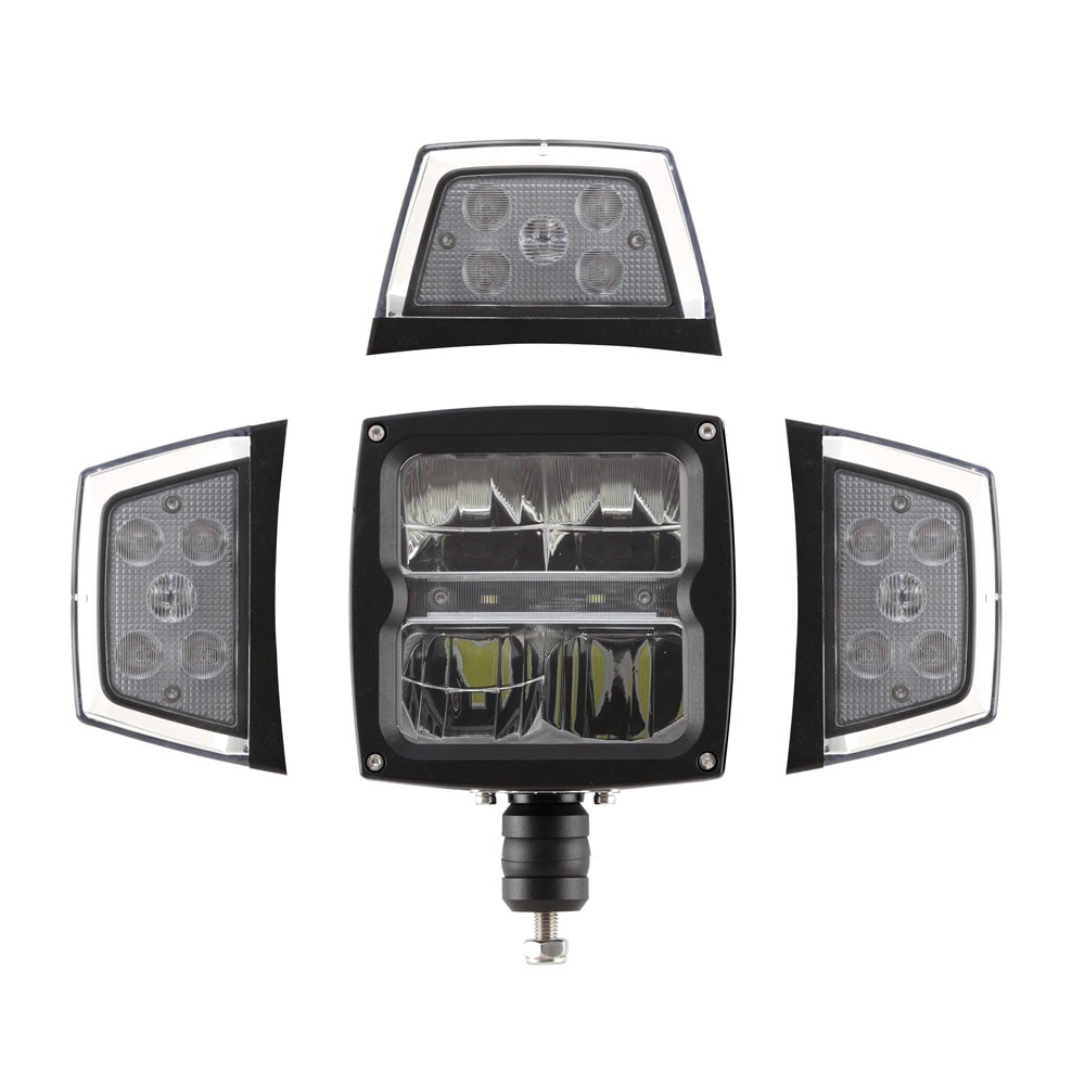 Strands plow lamp LED with heat lens