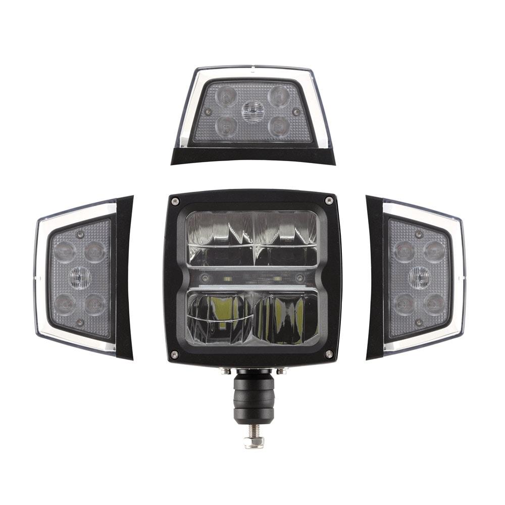 Strands ploglampa LED med värmelins