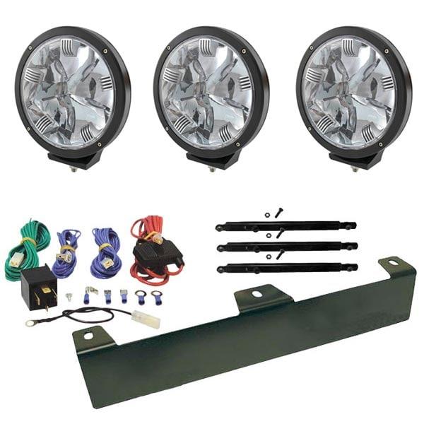 """3-Pack Extraljus Fritsla 9"""" LED - SLD"""