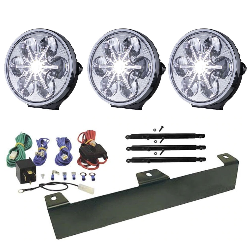 3-Pack Extraljus Sveg 9´ LED - SLD