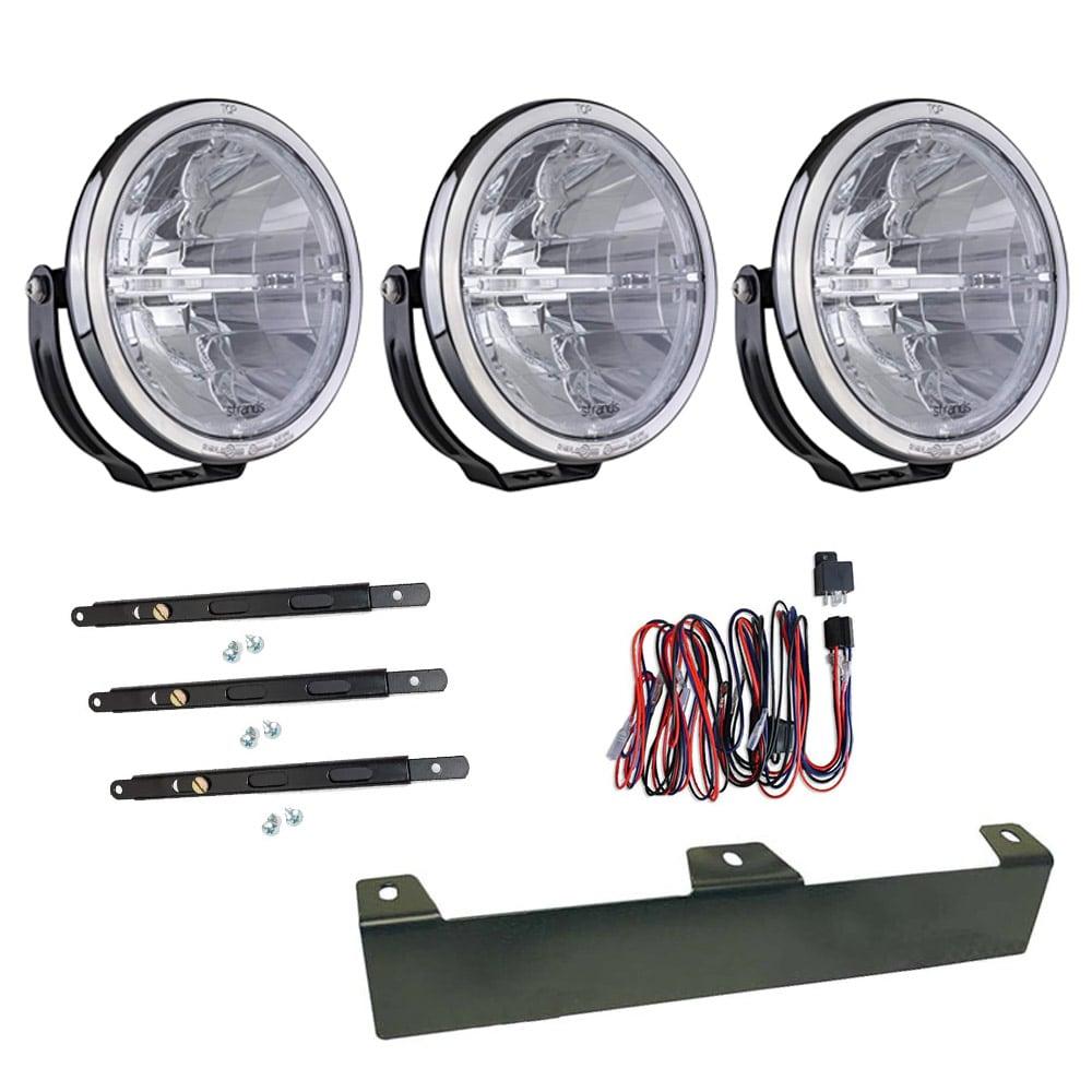 3-Pack Extraljus Ambassador 9´ LED - SLD