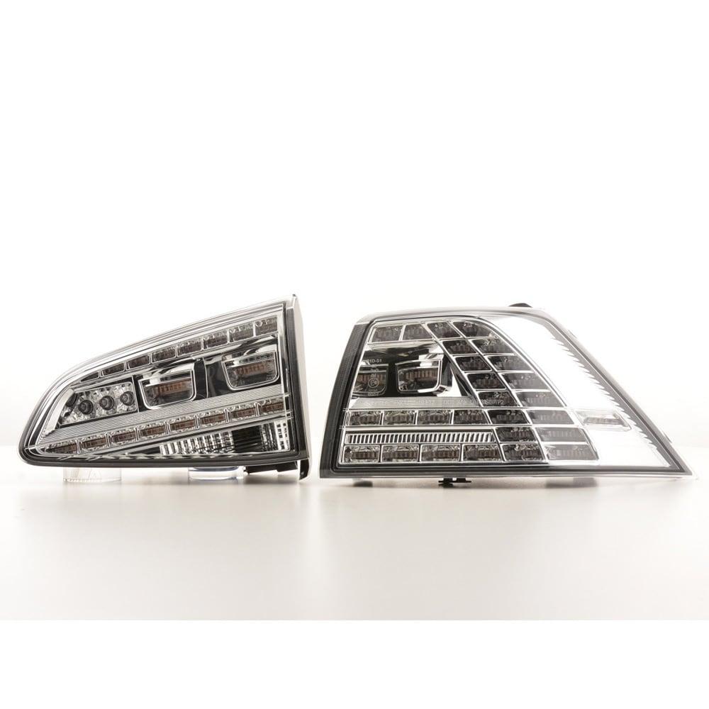 LED Baklampor klarglas VW Golf 7
