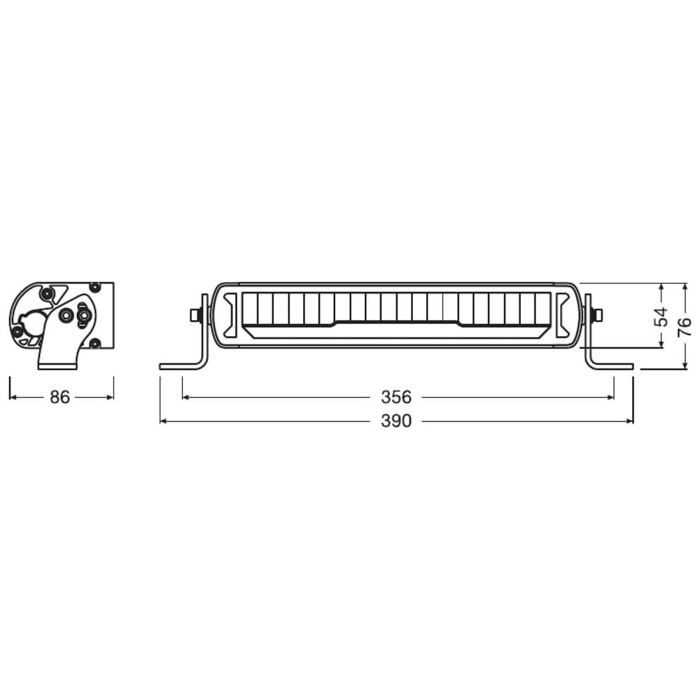 Lightbar MX250-CB Combo