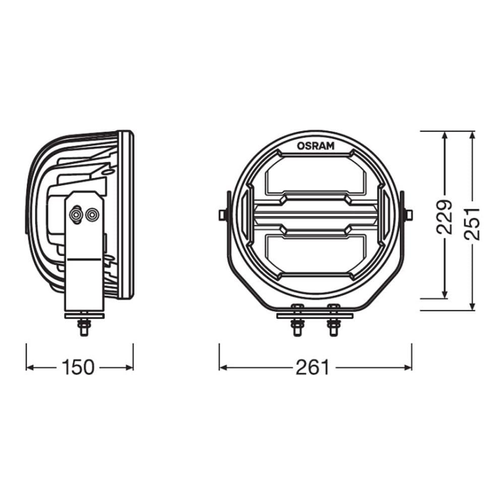 Round MX260-CB Combo