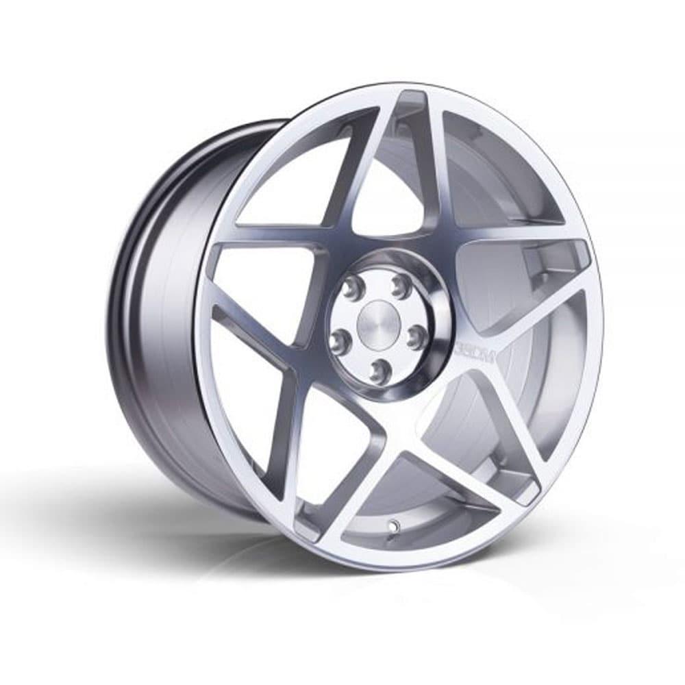 3SDM 008 Silver alufälg