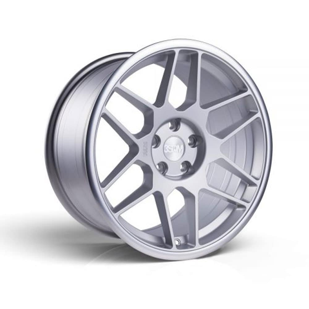 3SDM 009 Silver alufälg