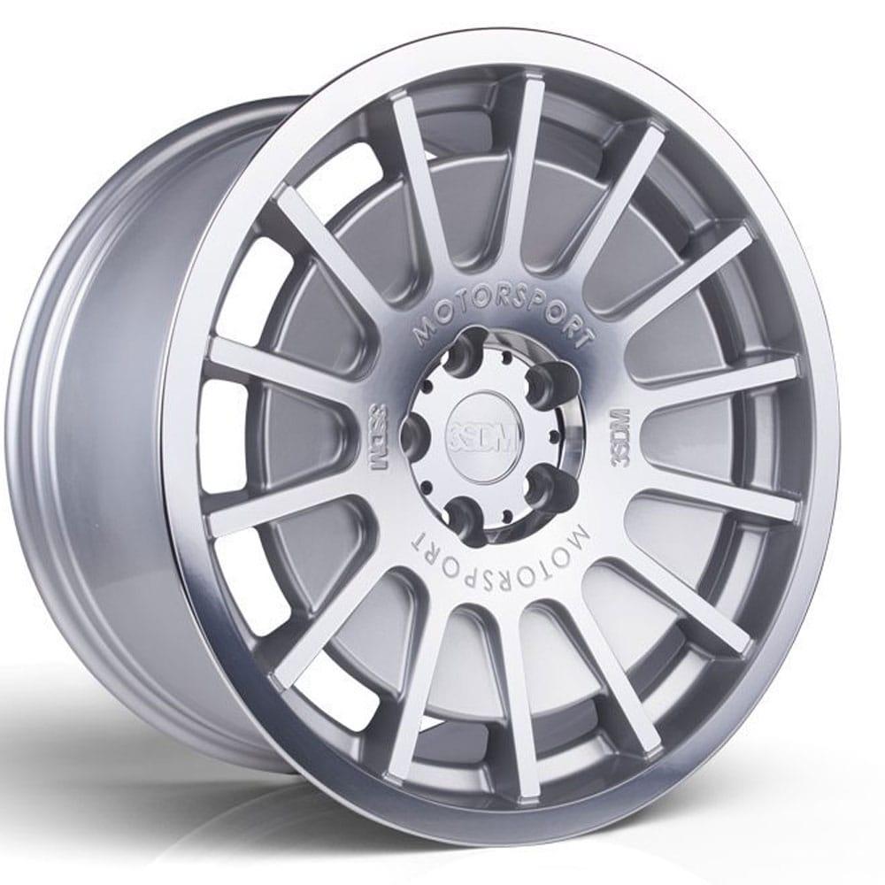 3SDM 066 Silver alufälg