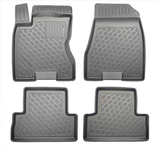 Floor mats Plastic ic Nissan X-Trail II