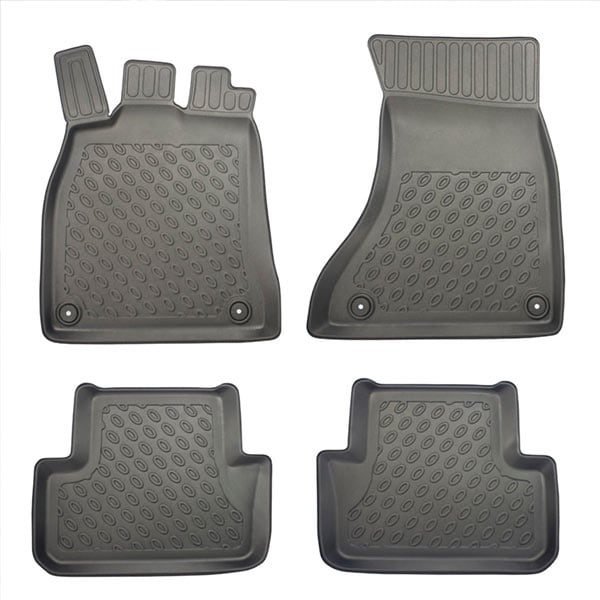 Floor mats Plastic ic Audi A4/A5