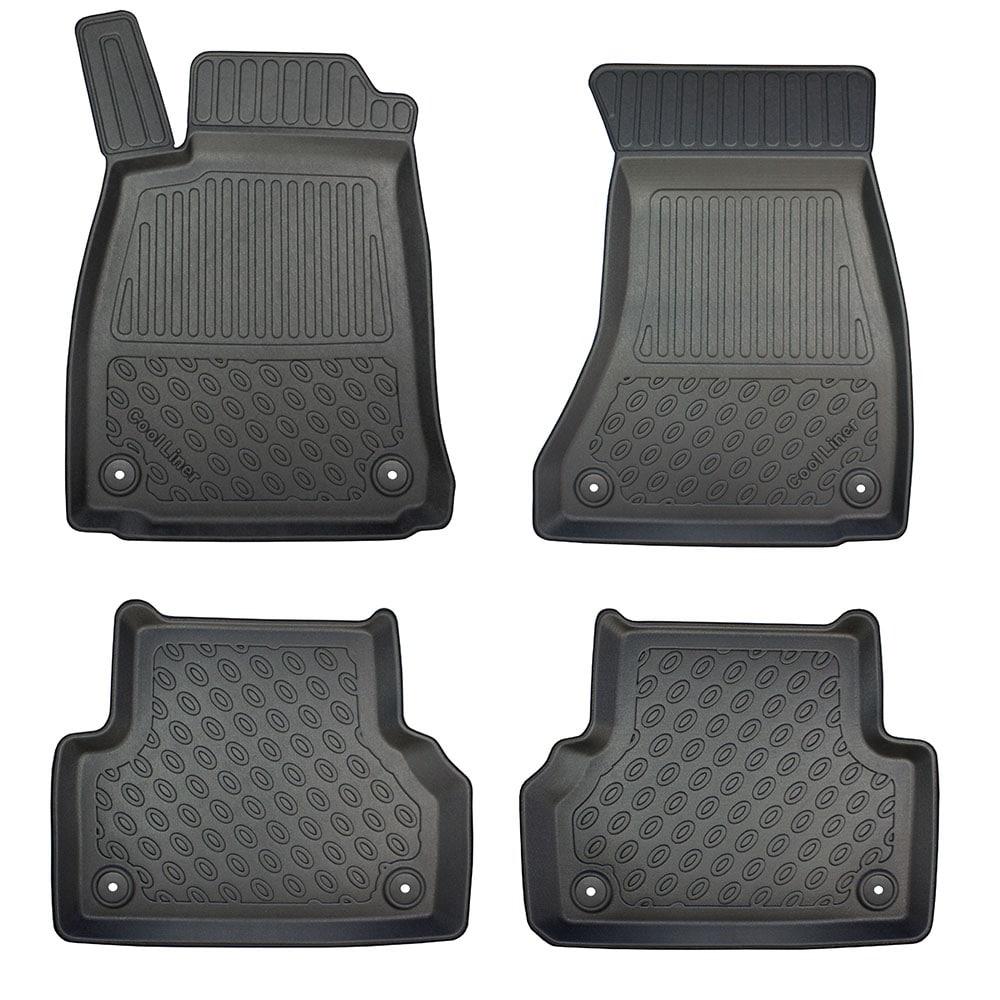 Floor mats Plastic ic Audi A4 B9