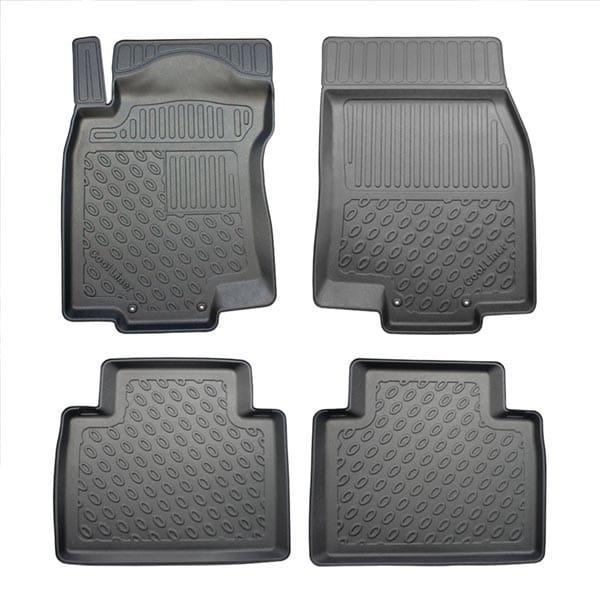 Floor mats Plastic ic Nissan X-Trail III