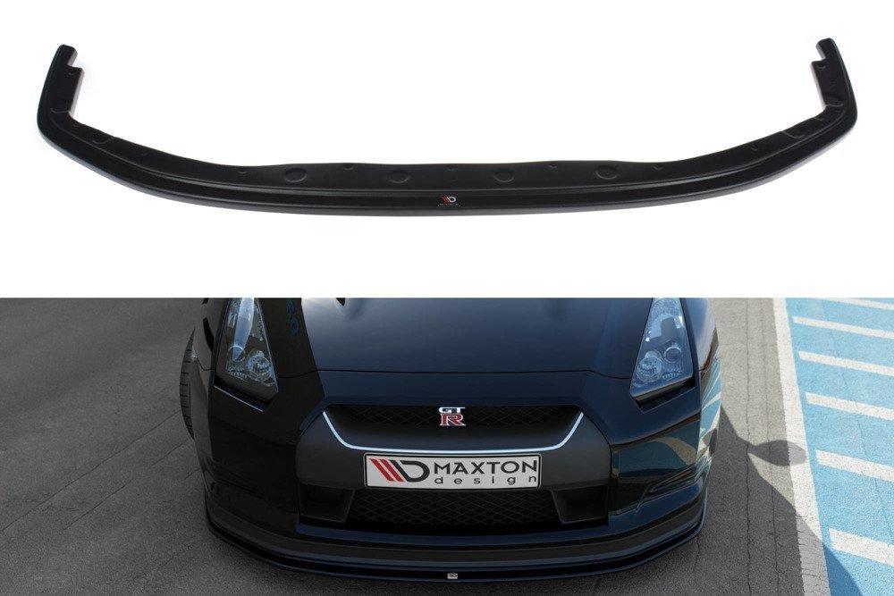 Blanksvart Cupspoiler Nissan GT-R