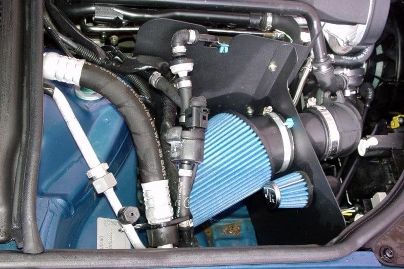 Sportluftfilter med avskärmning - Audi