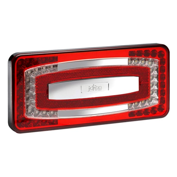 4 kammarlykta Jokon LED Bak/Broms/Blinkers/Dim/Reflex