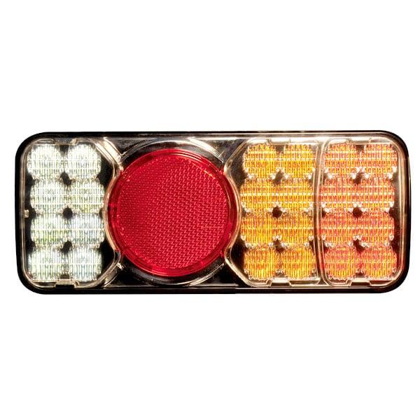 4 kammarlykta LED Bak/Broms/Blinkers/Back
