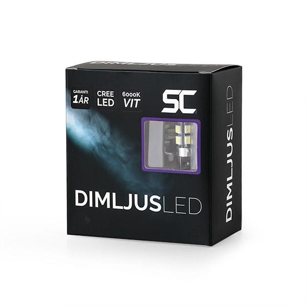 H1 LED Diod lampor 6000K