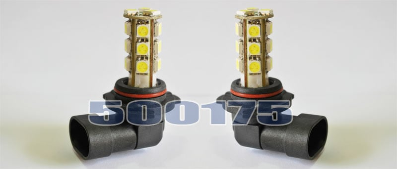 HB3 LED Diod lampor 6000K