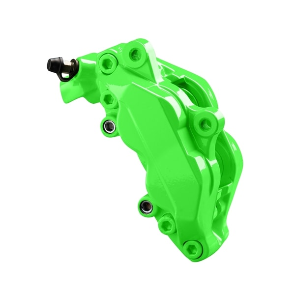 Brake caliper paint neon green 2-component