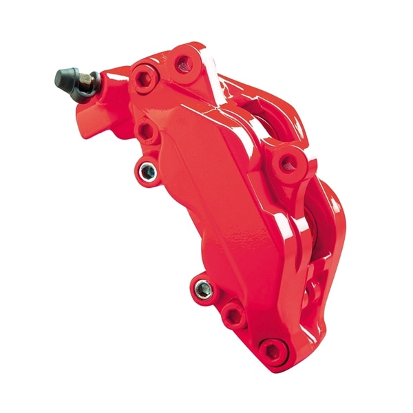 Brake caliper paint neon red 2-component