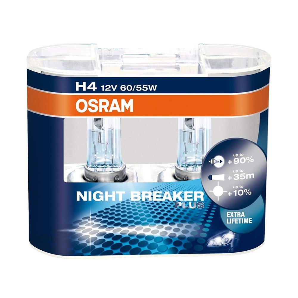 Osram H4 Nightbreaker Plus