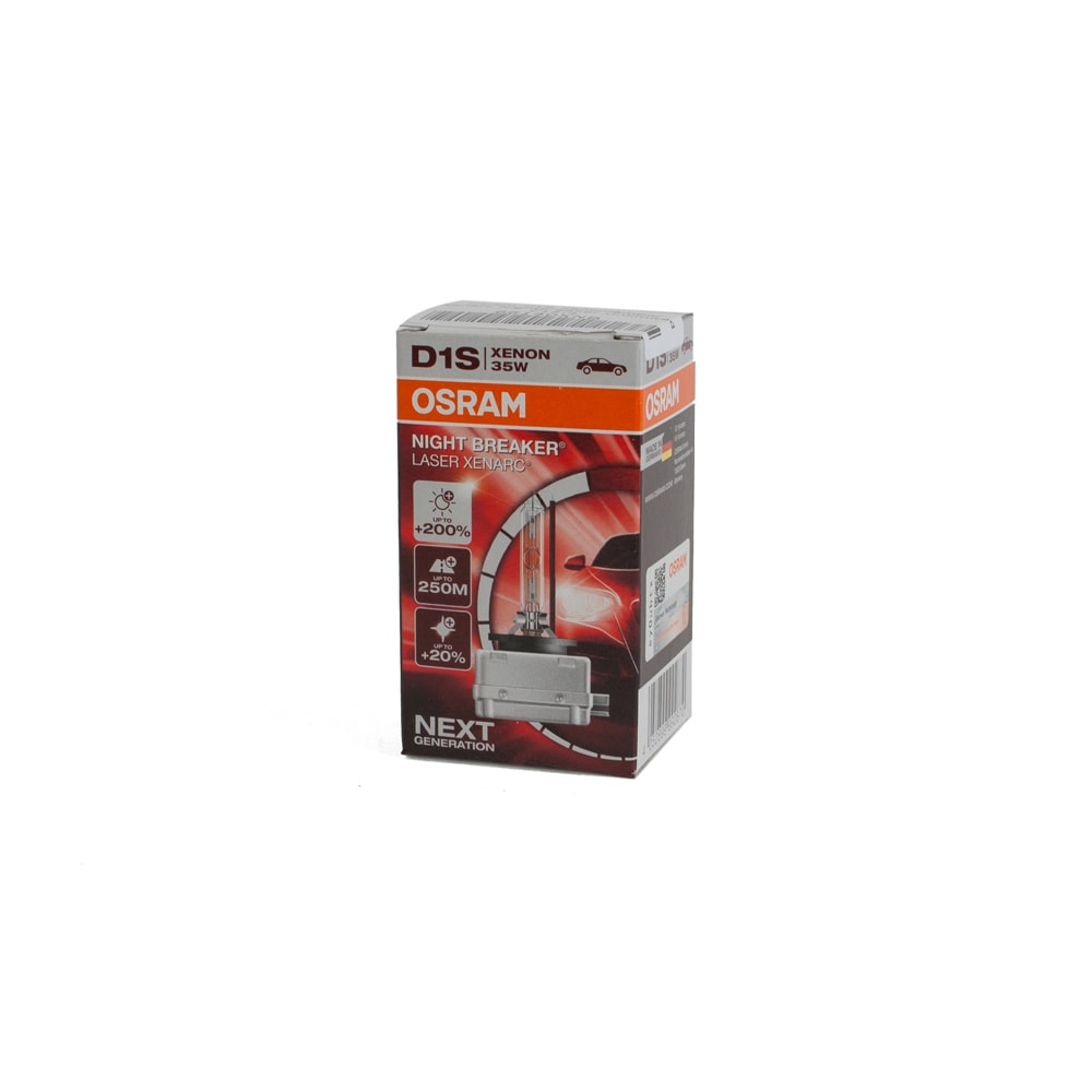 Osram D1S Xenonlampor Xenarc Nightbreaker Laser