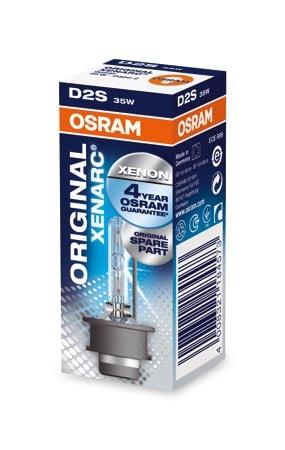 Osram D2S Xenonlampor Xenarc