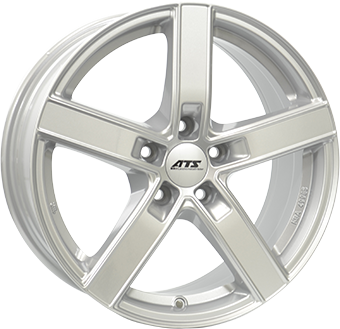 Complete Winter wheel set of ATS Emotion Silver