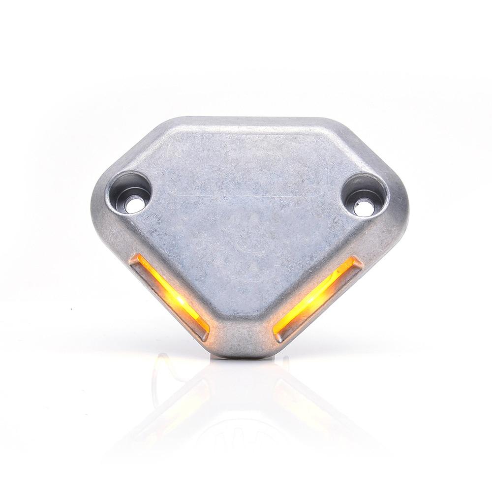 Strand warning light for rear lifting platforms 12/24V LED