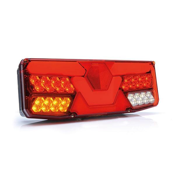 Baklampa LED med 5 kammare 12/24V