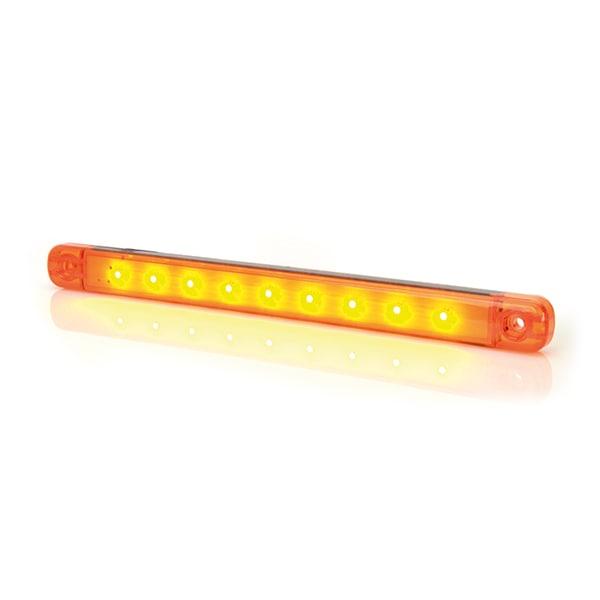 Positionsljus / Sidomarkering Orange LED