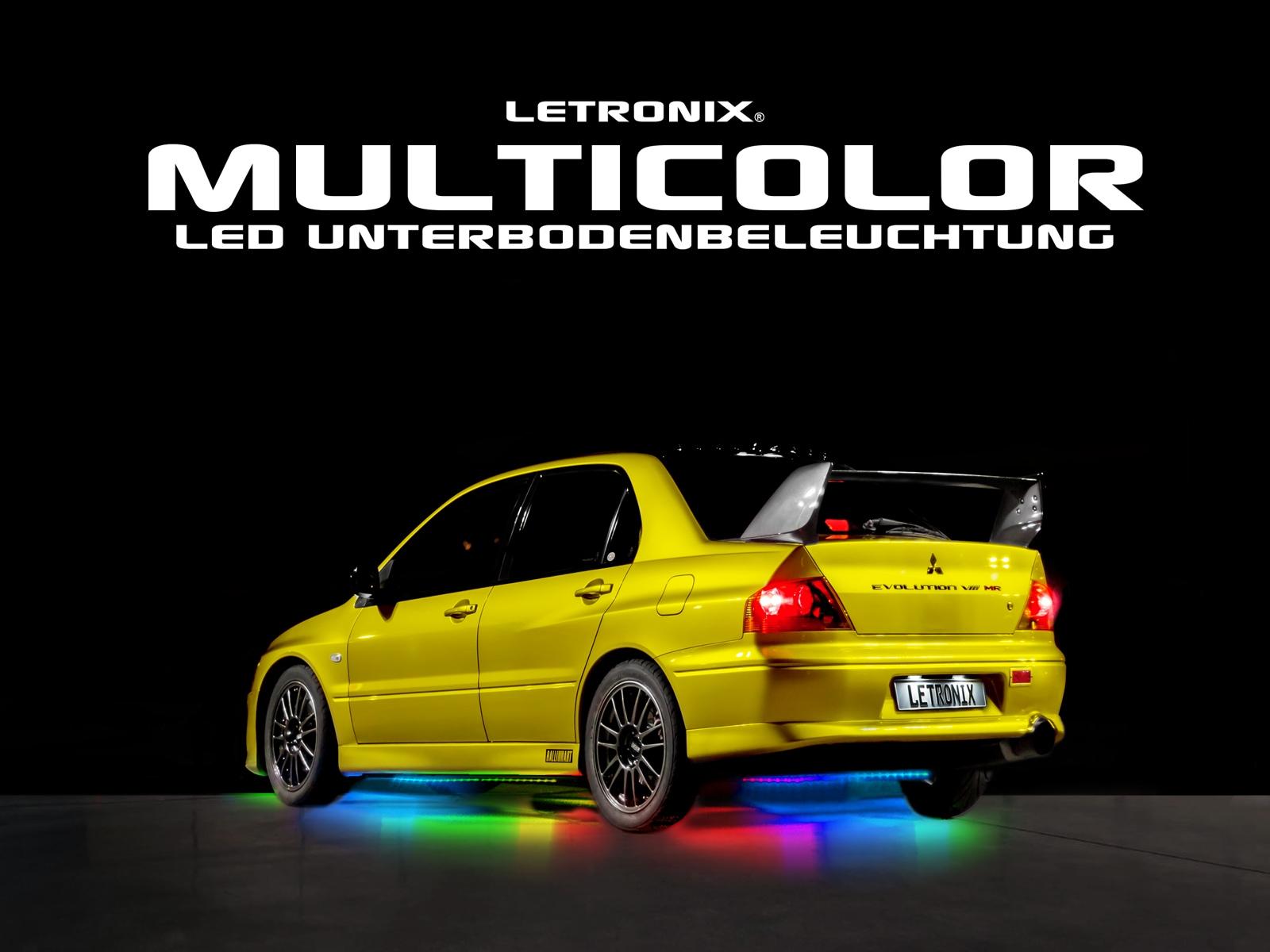 Under Car Kit Rainbow RGB