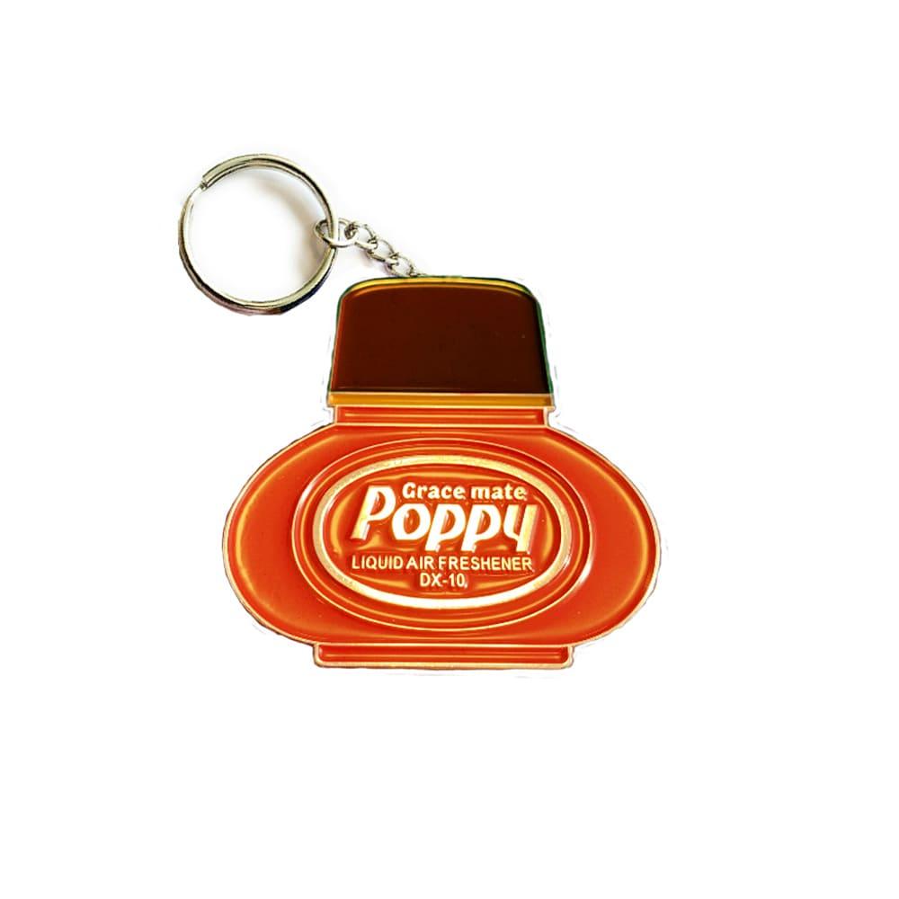 Poppy Grace Mate Nyckelring Metall