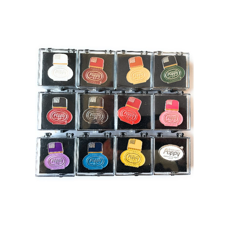Poppy Grace Mate pins mix collection