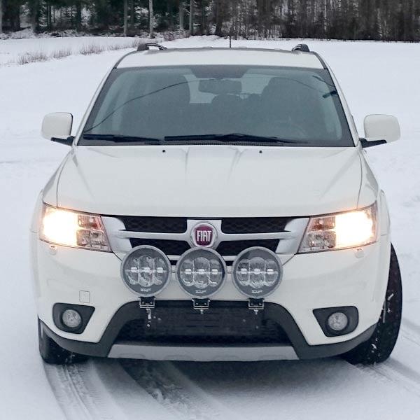 Vinter paketet 9´ W-light LED Extraljus