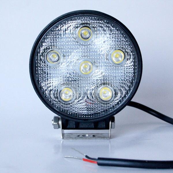 Swedstuff LED Arbetslampa Rund 18W