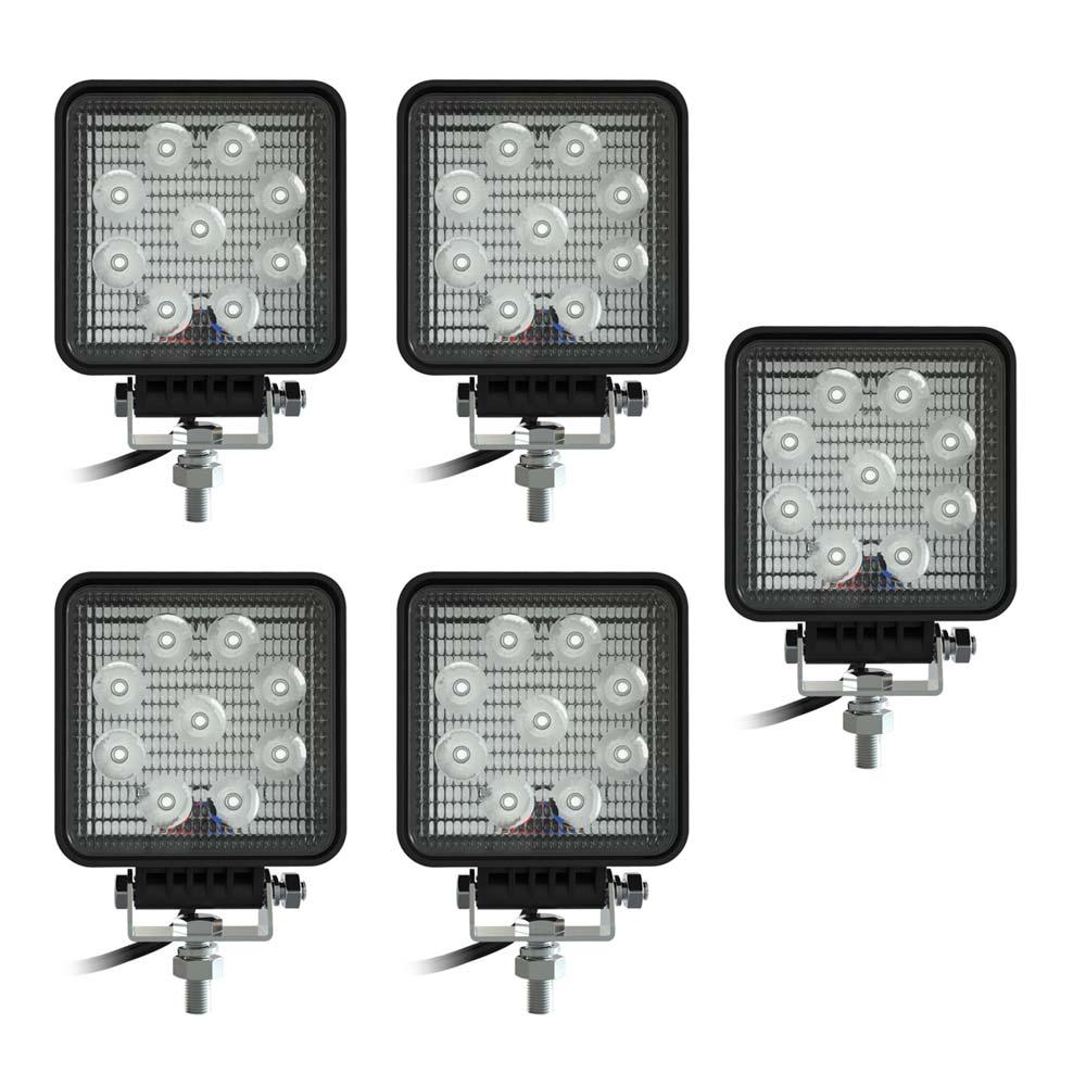 SWEDSTUFF Arbetsljus LED 9W 12-24V DC