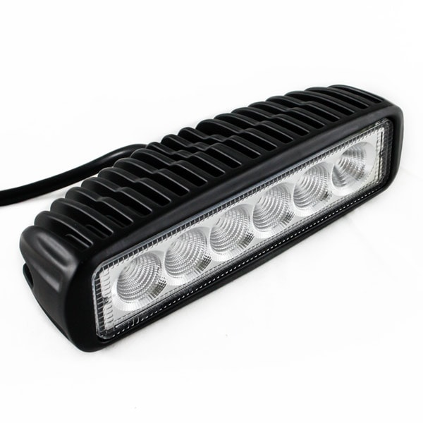 LED Arbetslampa 6st led