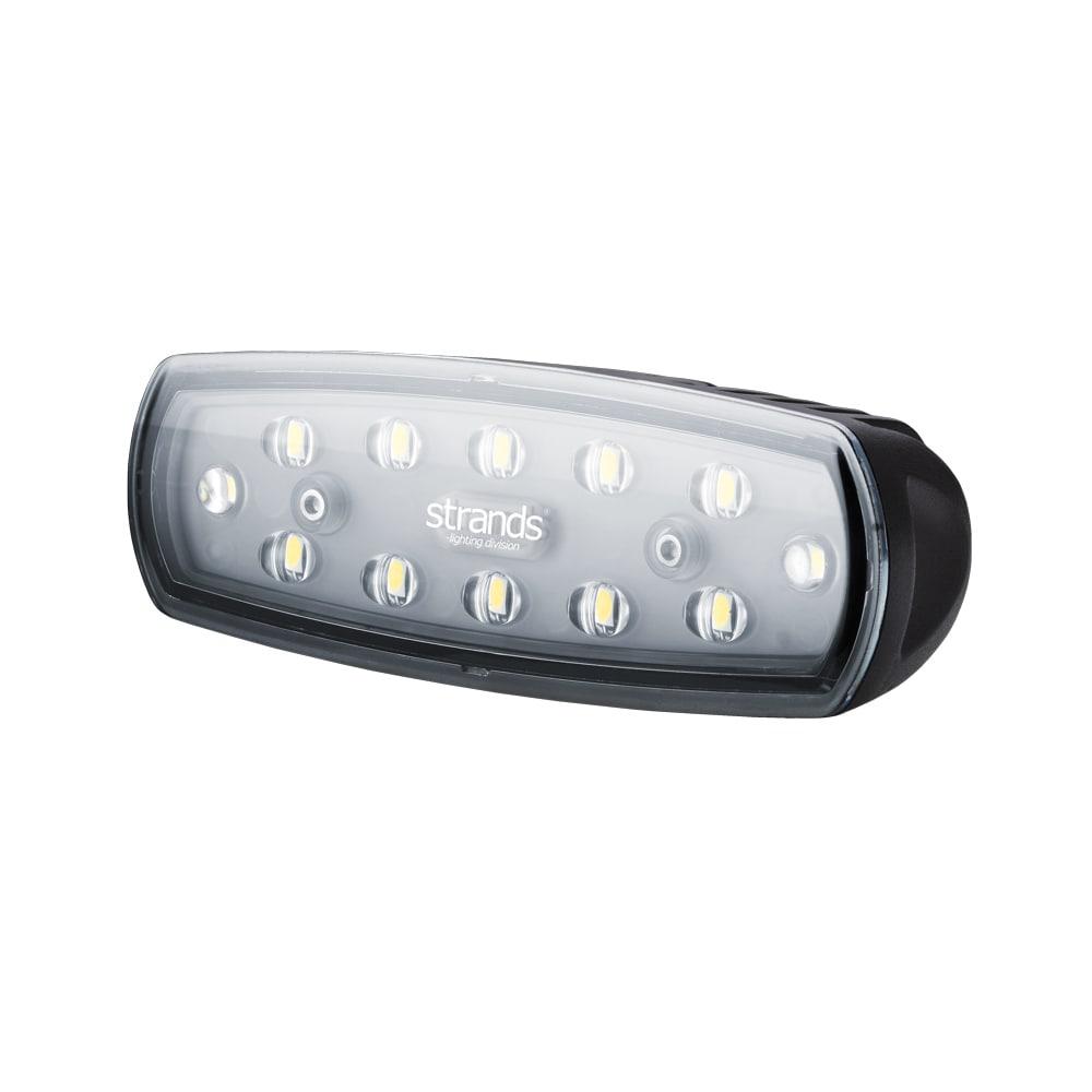 Strands arbetslampa/backljus E-märkt 15W