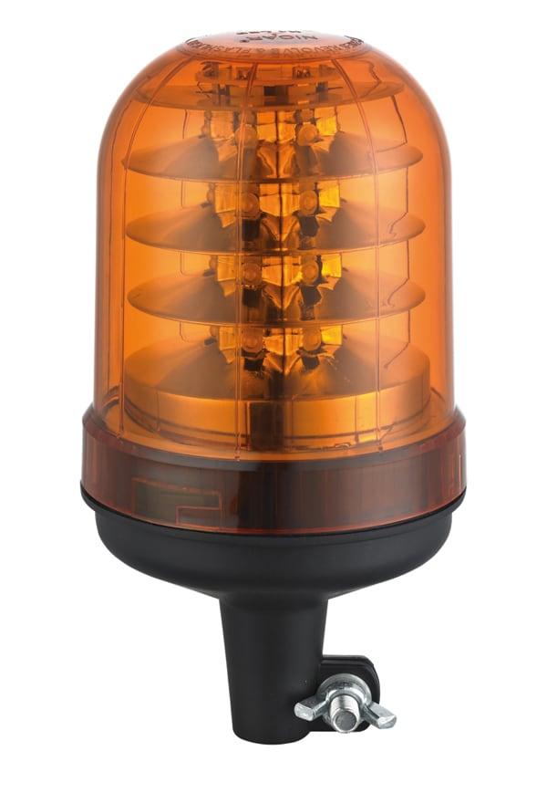 Roterande LED ljus för stångmontage