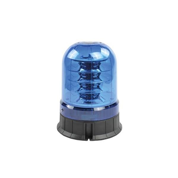 Blått glas till varningsljus
