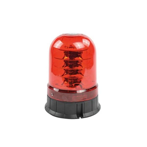 Rött glas till varningsljus