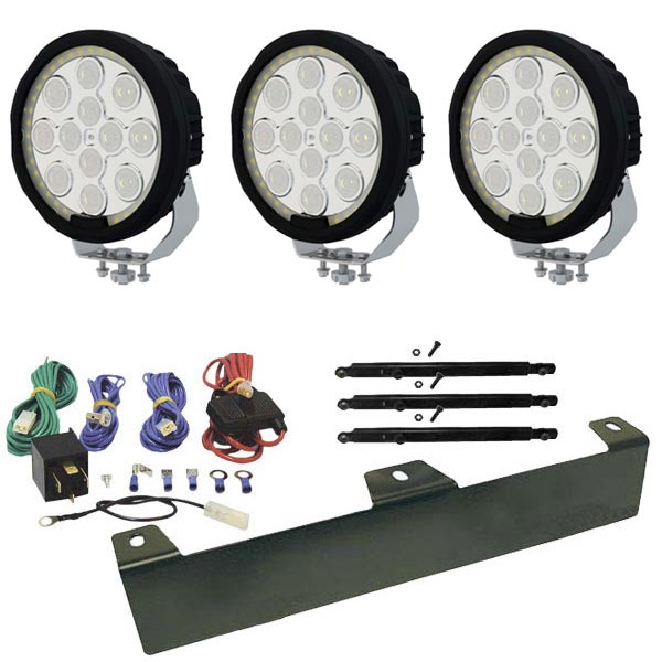 "3-Pack Extraljus Floby 8"" LED - SLD"