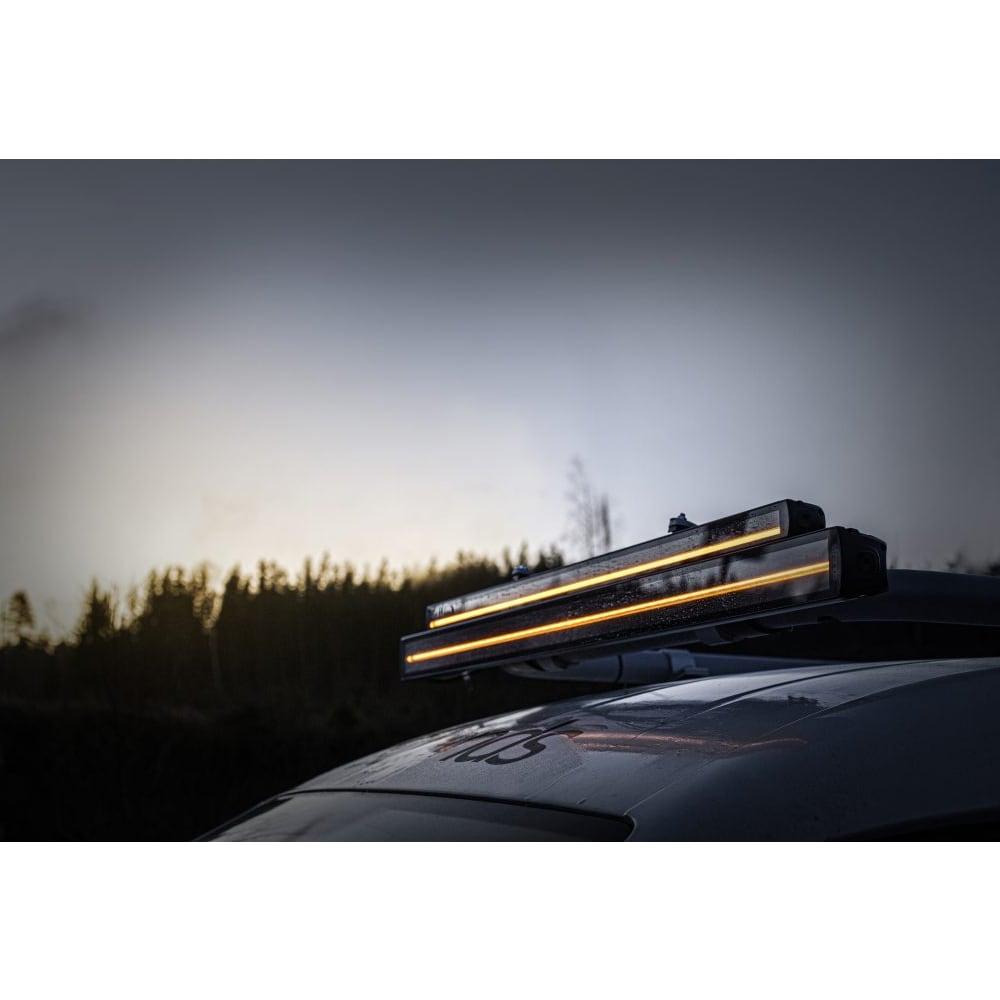 LED-ramp Siberia dubbelradig 56cm (Kombo) - Strands