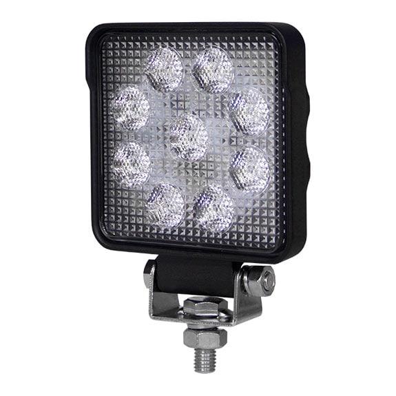 LED Arbetslampa 15W kvadratisk