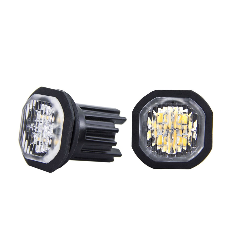SWEDSTUFF blixtljus duo LED 2x10W 12-24V