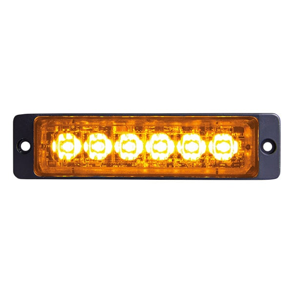 LED Blixtljus Slim Orange
