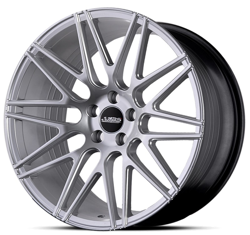 Complete wheel set of  ABS F10 Silver