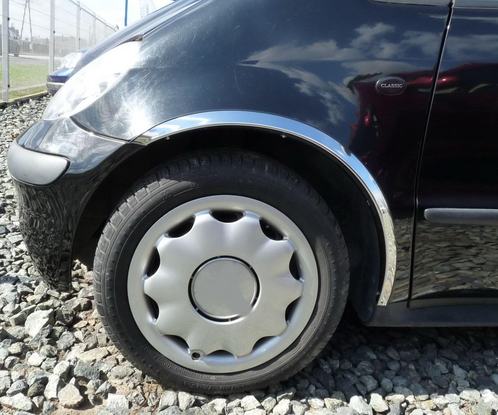 Skärmkantlister i krom Mercedes  A-klass W168