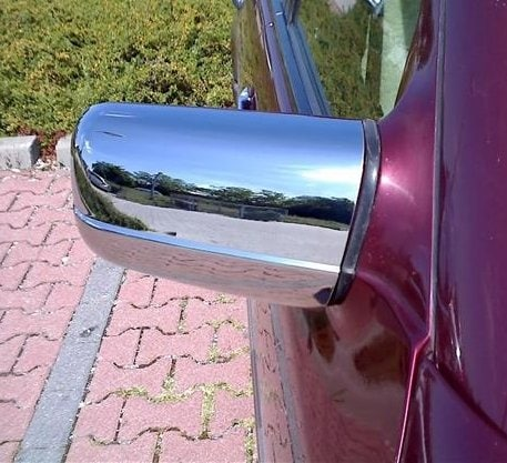 Kromade spegelkåpor  - Mercedes Benz W140 , W210 , W202